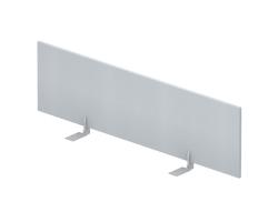 Экран настольный фронтальный (меламин) для стола bench ш. 160 см — фото 1