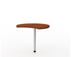 Стол-прист.радиусная  90х75,6х77,2 см — фото 1