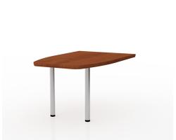 Стол-приставка конфер. 90х90х73,2 см — фото 1