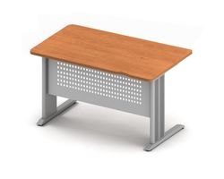 Стол прямой 120x65x74 см на металлокаркасе — фото 1
