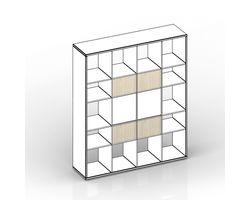 Комплект задних стенок (малых) для стеллажа 38.5х1.8х24.6 см — фото 1