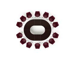 Стол 310х240х73.5 см для совещаний модульный - Композиция 9 — фото 1