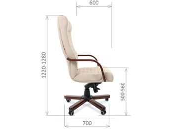 Кресло CHAIRMAN CH 480 WD — фото 4