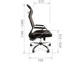 Кресло CHAIRMAN CH 700 — фото 5