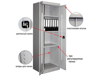 Металлический шкаф архивный ШХА-900(40) — фото 3