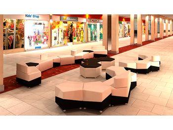 Модульный диван М15 - объединение линий — фото 6