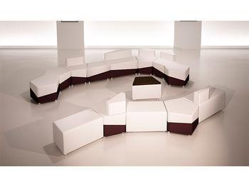 Модульный диван М15 - объединение линий — фото 5