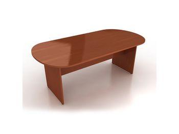 Стол для конференций 180x90x75 см овальный — фото 1