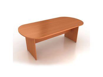Стол для конференций 200x100x75 см овальный — фото 1