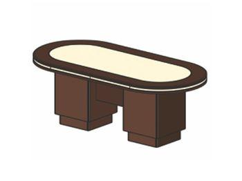 Стол для заседаний 200х120х78 см — фото 1