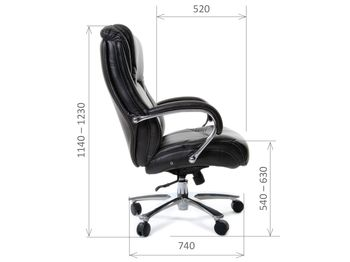 Кресло CHAIRMAN CH 402 — фото 6