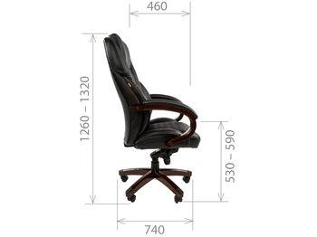 Кресло CHAIRMAN CH 406 — фото 6
