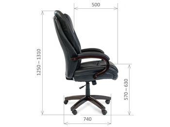 Кресло CHAIRMAN CH 408 — фото 6