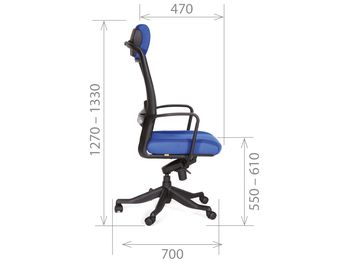 Кресло CHAIRMAN CH 283 — фото 4