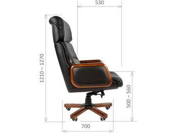 Кресло CHAIRMAN CH 417 — фото 5