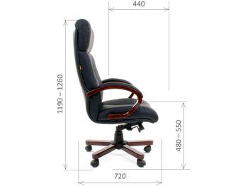 Кресло CHAIRMAN CH 421 — фото 5