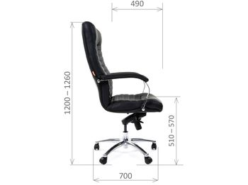 Кресло CHAIRMAN CH 480 — фото 7