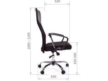 Кресло CHAIRMAN CH 610 — фото 9
