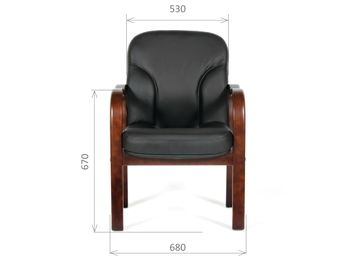 Кресло CHAIRMAN CH 658 — фото 4