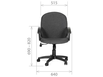 Кресло CHAIRMAN CH 681 — фото 5