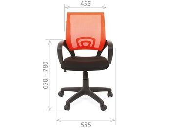 Кресло CHAIRMAN CH 696 black — фото 11
