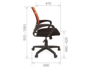 Кресло CHAIRMAN CH 696 black — фото 12