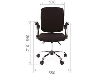 Кресло CHAIRMAN CH 9801 Хром — фото 5