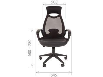 Кресло CHAIRMAN CH 840 Black — фото 9